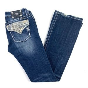 MISS ME Signiture boot cut jeans